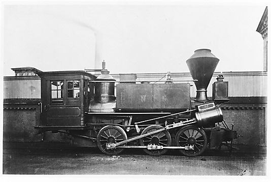 [Pennsylvania Railroad Engine]