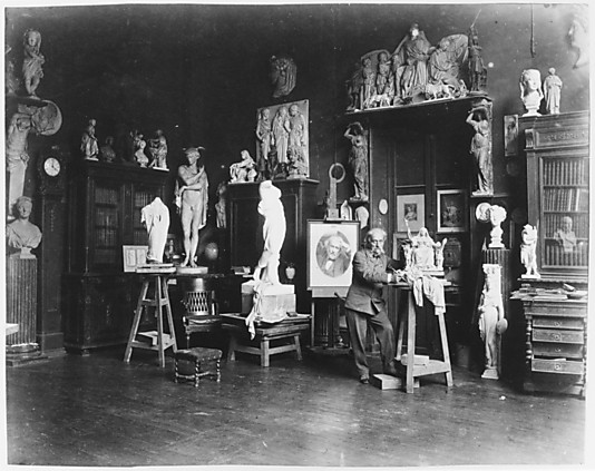 [Album of 96 Portraits of Artists in Their Studios in 2 Volumes]