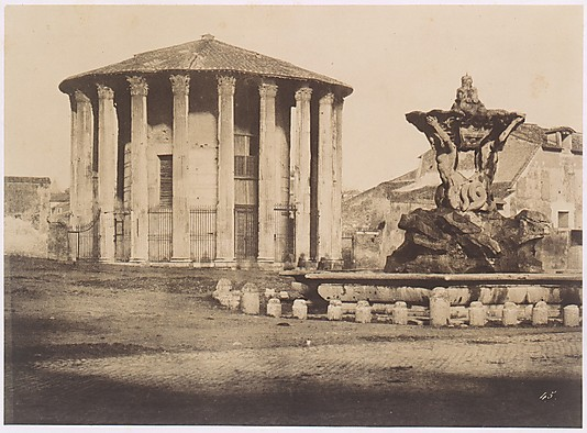 Temple of Vesta and Fountain, Piazza Bocca della Verita