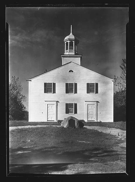 [Church with Octagonal Belltower, Wellfleet, Massachusetts]