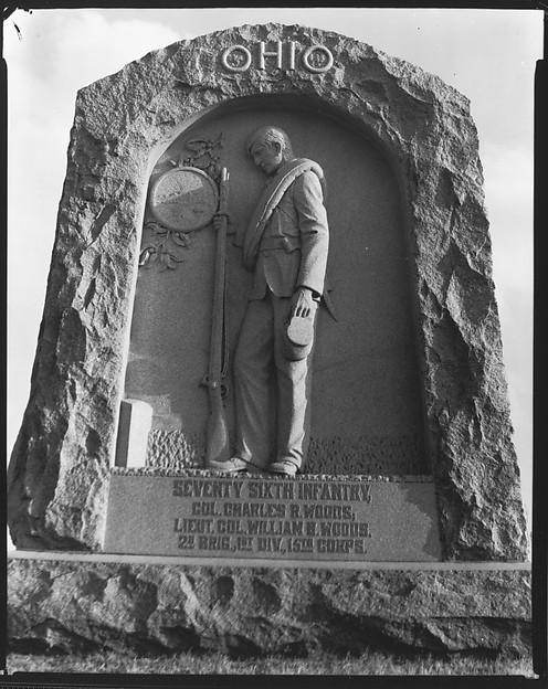 [Battlefield Monument for Seventy-Sixth Infantry, Vicksburg, Mississippi]