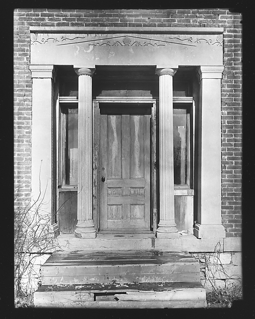 [Greek Revival Doorway, Near Ballston Spa, New York]