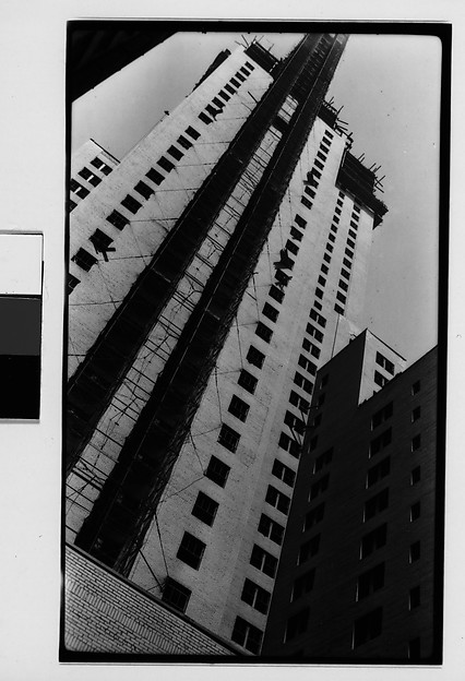 [Chrysler Building Construction, from Below, New York City]