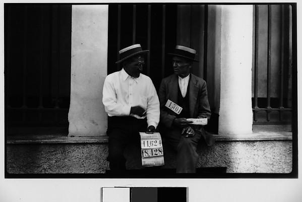 [Lottery Ticket Vendors, Havana]
