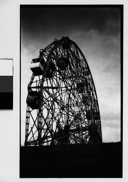 "[""Wonder Wheel"" Ride, Coney Island, New York]"