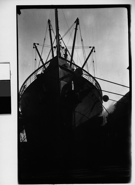[Ship's Prow, New York City?]