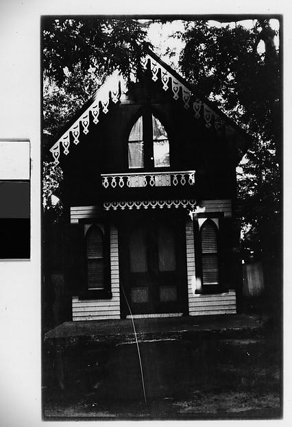 [Folk Victorian House, Oak Bluffs, Massachusetts or Ossining, New York]