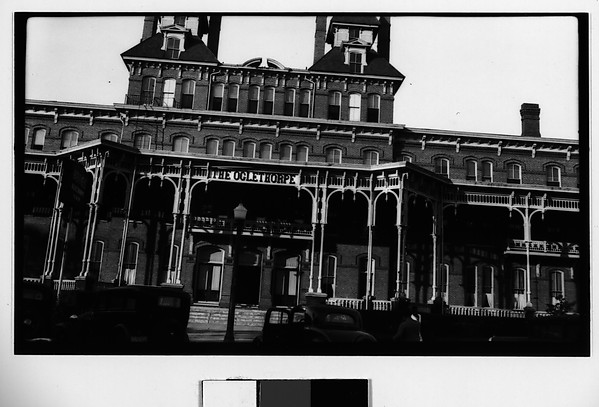 [Oglethorpe Hotel, Savannah, Georgia]