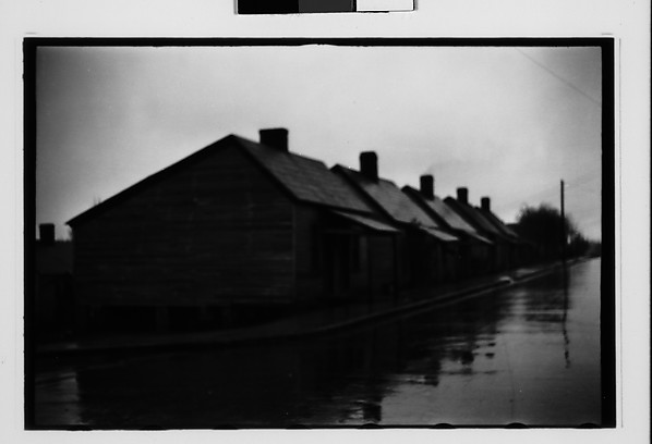 [Row of Wooden Company Houses, Southeastern U.S.]