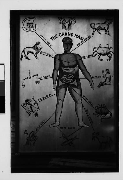 "[""The Grand Man"" Astrologer's Sign, Georgia?]"