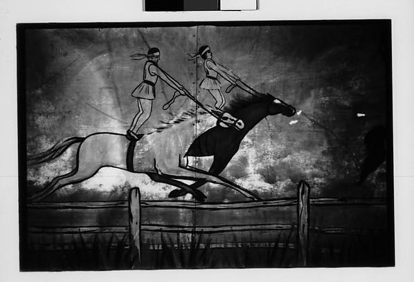 [Painted Circus Wagon Detail, Southeastern U.S.]