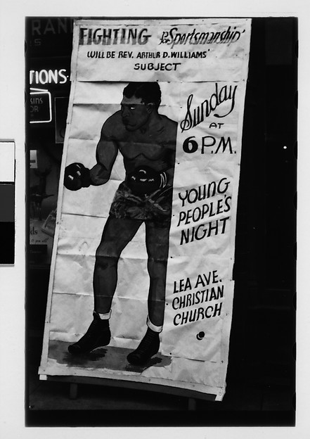 [Boxing Poster, Pennsylvania]