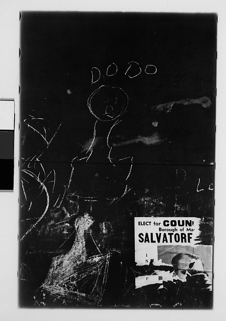 [Graffiti: Chalk Drawing, New York City]
