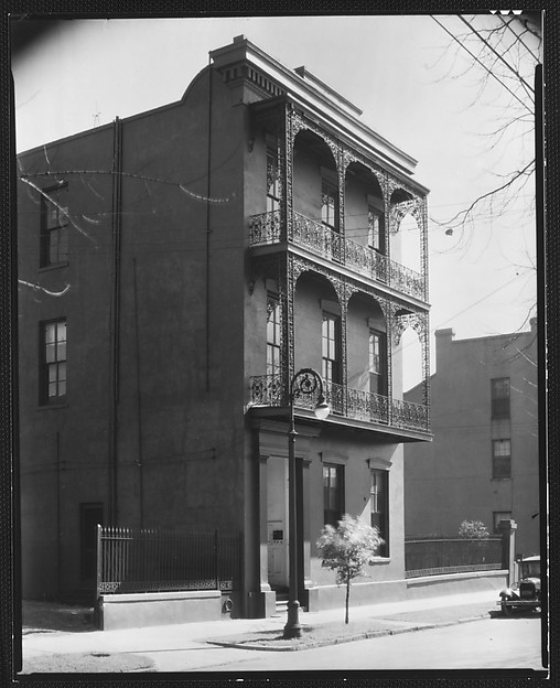 [Cast-Iron Balconied House, New Orleans, Louisiana]