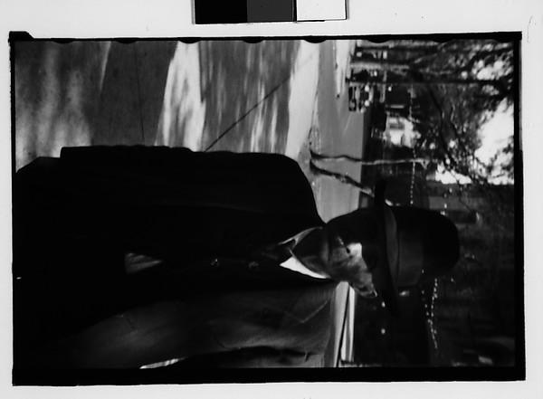 [Elderly Man on Street, Savannah, Georgia]