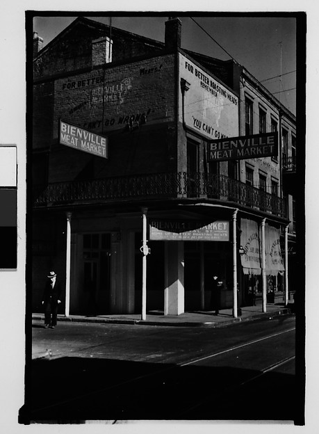 [Butcher Shop in French Quarter, New Orleans, Louisiana]