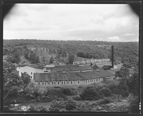 [Factory and Workers' Houses, From Elevated Position, West Virginia?]