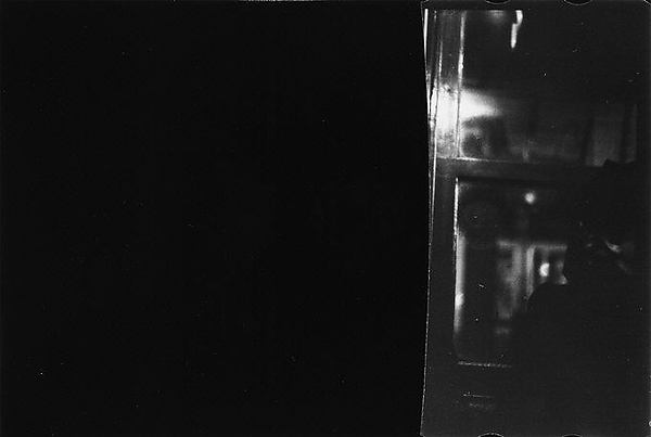 [Cut Fragment: Partial View of Subway Car, New York City]