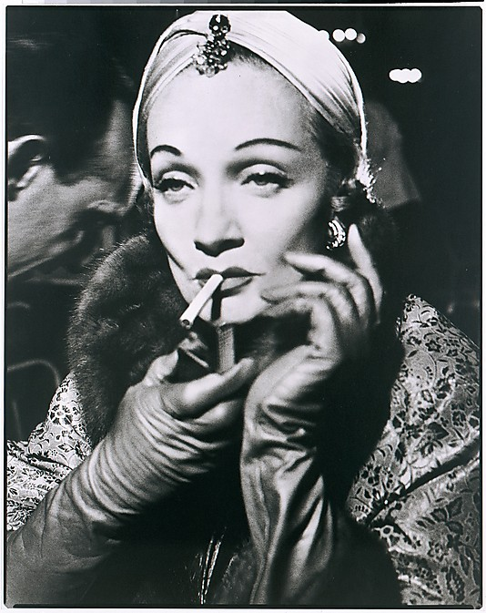 Marlene Dietrich, Turban by Dior, The Ritz, Paris