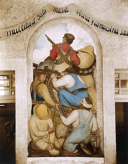 [Diego Rivera's Fresco