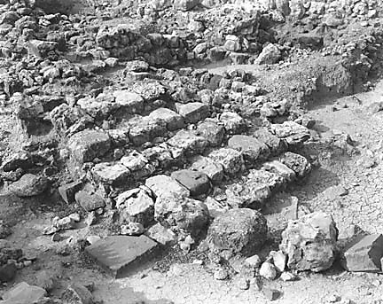 Hebrew University of Jerusalem, Hatzor Excavation. Shore Negative #62