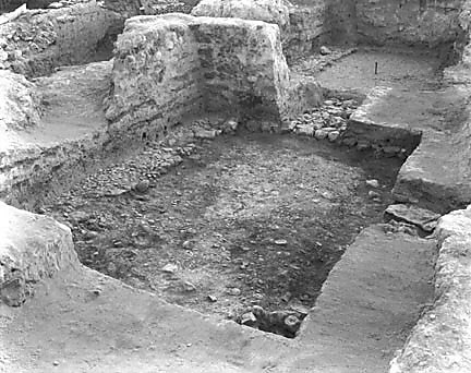 Hebrew University of Jerusalem, Hatzor Excavation. Shore Negative #53