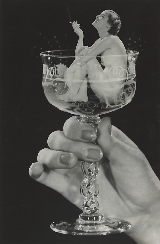 [Woman in Champagne Glass]