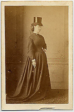 [Empress Eugenie Wearing a Hat]