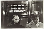 [Subway Passengers, New York City]