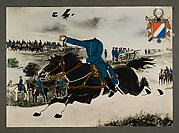[Headless Cavalry Soldier Charging with Sword Drawn]