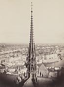 Flèche de Notre Dame, Viollet-le-Duc, Ar (Spire of Notre Dame, Viollet-le-Duc, Ar[chitect])