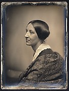 [Woman in Profile with Lace Collar and Shawl]