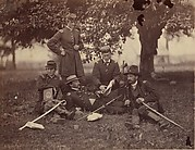 Studying the Art of War, Fairfax Court-House, [Virginia]