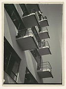 [View of the Bauhaus Studio Wing]