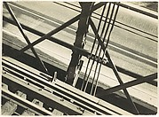 [Elevated Train Tracks and Street, New York]