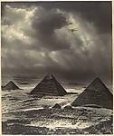 Sandstorm over Pyramids