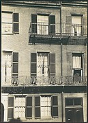 [Windows and Balconies on West Cedar Street, Beacon Hill, Boston]