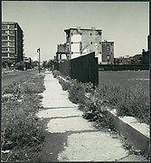 [Sidewalk and Buildings on Prarie Avenue, South Side of Chicago, Illinois]