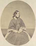 [Young Woman in Dotted Dress]
