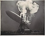 [Explosion of the Hindenburg, Lakehurst, New Jersey, May 6, 1937]