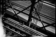 [Elevated Train Tracks and Street Below, Brooklyn Bridge, New York]