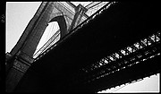 [Brooklyn Bridge, from Below, New York]