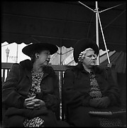 [Two Women Seated on Bench, Florida]