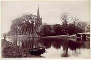 Stradford-on-Avon Church, from the Avon