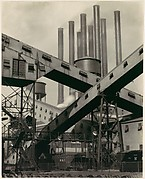 Criss-Crossed Conveyors, River Rouge Plant, Ford Motor Company
