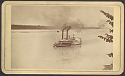 Steamer R.E. Lee Racing with Natches When Nearing St. Louis