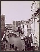 Intérieur de la Porte de Jaffa