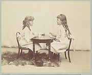 Frances and Ethel de Forest, daughters of Robert de Forest