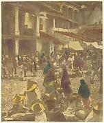 The Plaza, Market Day, Taxco, Mexico