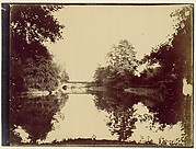[Bridge Over a Pond]